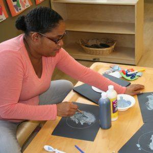 Teacher at Villa Montessori Preschool Polaris